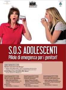 Locandina progetto adolescenza