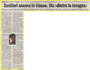 Comunicato stampa del 27/03/08 al Giornale della Provincia di Lecco