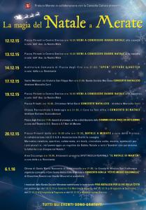 Locandina eventi a Merate il 20/12/2015