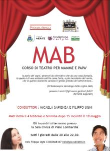 Locandina corso teatrale MAB - Piccoli Idilli
