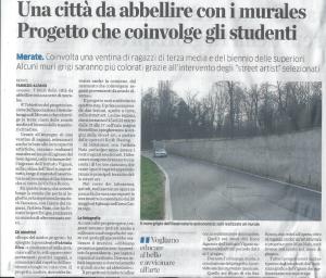 articolo La Provincia 18/03/2016