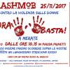 Volantino FLASHMOB 25/11/2017 a Merate