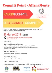 Locandina conferenza 21/03/2018 - Fondazione Brandolese & DietroLaLavagna
