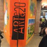 """Inaugurazione della mostra """"Tutti i colori delle Fiabe"""" presso la sede di Artee20 a Merate il 31/03/2018"""