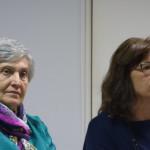 A sinistra Amalia Bonfanti a destra Alessandra Colombo Avvocato