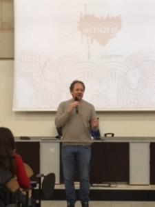 Prima conferenza 04/02/2019 - Il regista teatrale Jacopo Boschini parla ai ragazzi