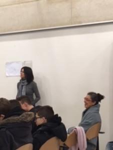 Prima conferenza 04/02/2019 - La psicopedagogista Valerie Moretti parla ai ragazzi