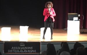 Patrizia Riva presenta il progetto prima dello spettacolo