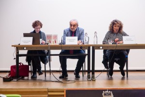 Da sinistra: Marta Versiglia pedagogista CPP, Daniele Novara e Patrizia Riva